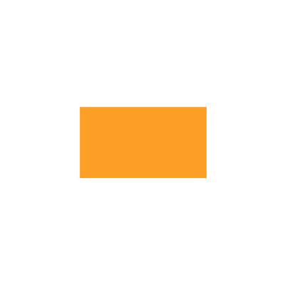 Этикет-лента прямоугольная 16х26 мм, оранжевый, 1000шт/рул, 10 рулонов