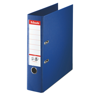 Папка-регистратор А4 Esselte Plus 81185, А4+, 80мм, синяя