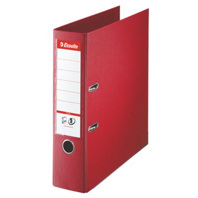 Папка-регистратор А4 Esselte Plus 81183, А4+, 80мм, красная