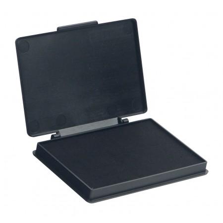 Штемпельная настольная подушка Kores 71575, 70х110мм, черная