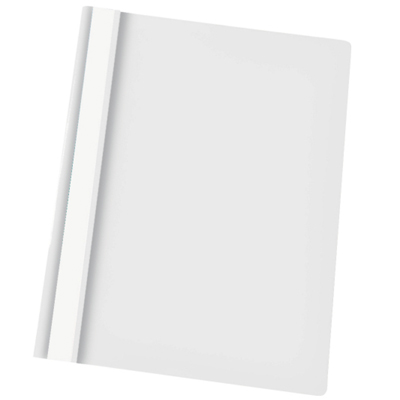 Скоросшиватель пластиковый Esselte 28321, А4, белый