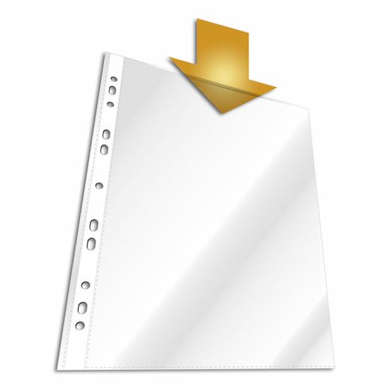 Файл-вкладыш А4 Durable, 60мкм, глянцевый, 10 шт/уп , 2662-19