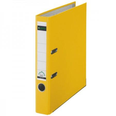 Папка-регистратор А4 Leitz 10151215P, 50мм, желтая