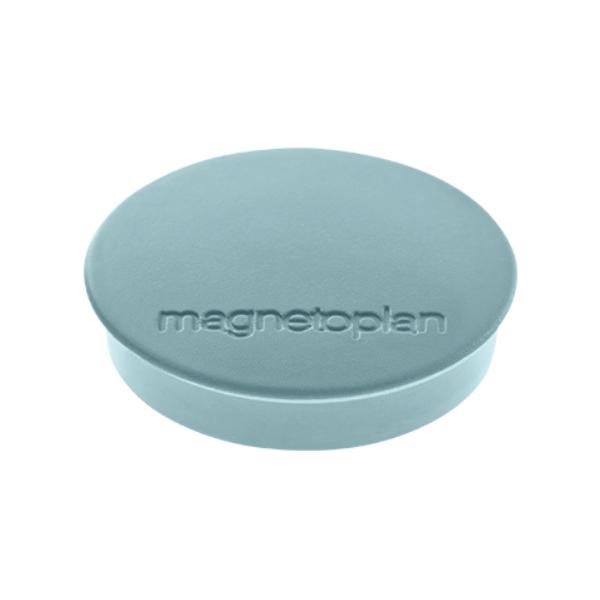 Магниты для магнитной доски Magnetoplan Standart 1664201, d=30мм, серые, 10шт/уп