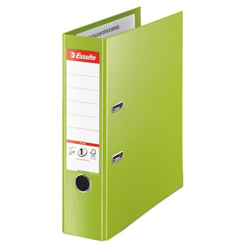 Папка-регистратор А4 Esselte Plus 81186, А4+, 80мм, зеленая