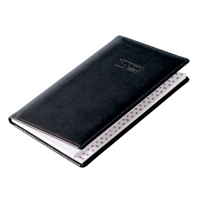 Телефонная книжка Brunnen Софт, 8,7 х 15,3см, 48 листов, черный