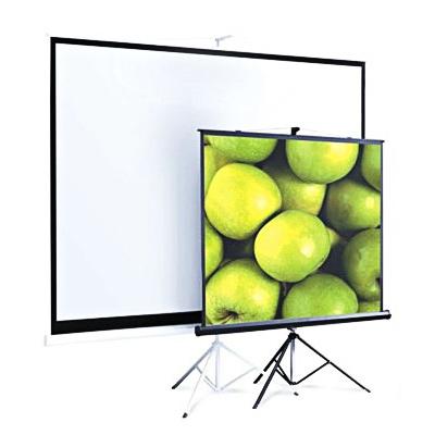 Экран для проектора мобильный Screen Media Appolo-T, 1:1, 150х150см, на штативе