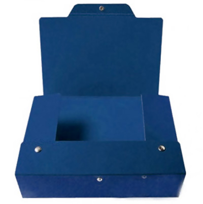 Архивный бокс Италия 0126, 120 мм, синий