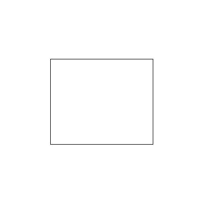 Этикет-лента прямоугольная 28х29 мм, белый, 700шт/рул, 100 рулонов