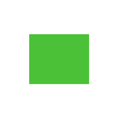 Этикет-лента прямоугольная 28х29 мм, зеленый, 700шт/рул, 100 рулонов