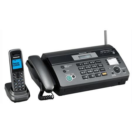 Телефакс PANASONIC KX-FC965RU , черный