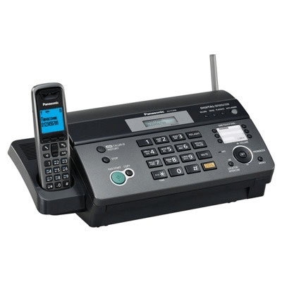 Факсимильный аппарат PANASONIC KX-FC968RU, термопечать А4, черный