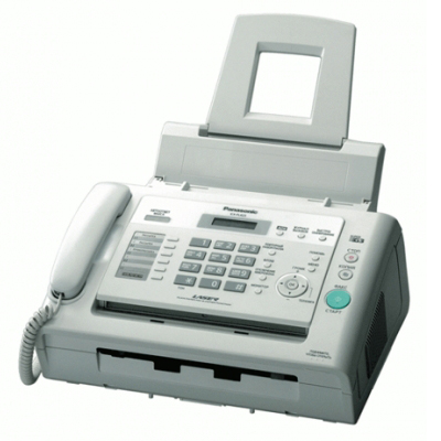 Факсимильный аппарат Panasonic KX-FL423RUW, лазерная печать А4, белый