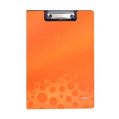 Папка-планшет с крышкой Leitz Bebop 39620045, А4, оранжевая