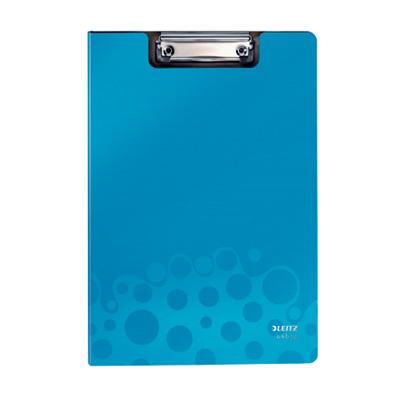 Папка-планшет с крышкой Leitz Bebop 39620037, А4, синяя