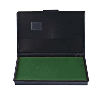 Штемпельная настольная подушка Trodat 9051, 90х50мм, зеленая, краска на водной основе