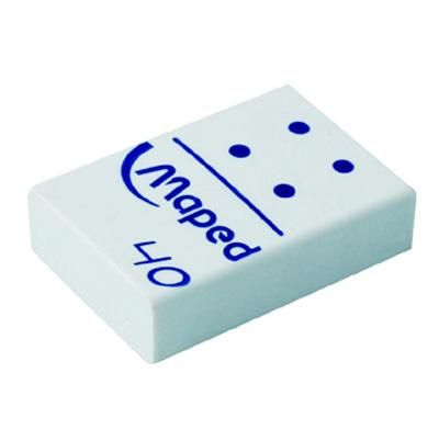 Ластик Maped Domino 40, 511240, белый , 511240