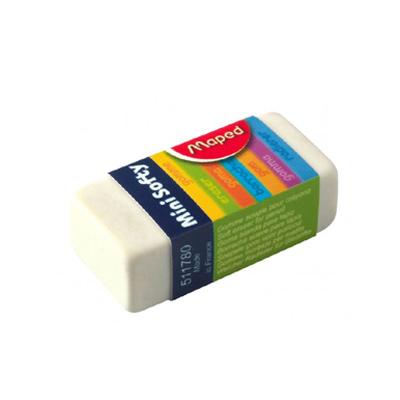 Ластик малый Maped Softy 511780, белый, 511780