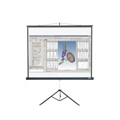 Экран для проектора мобильный Lumien Master View LMV-100107, 4:3, 153х203см, на треноге