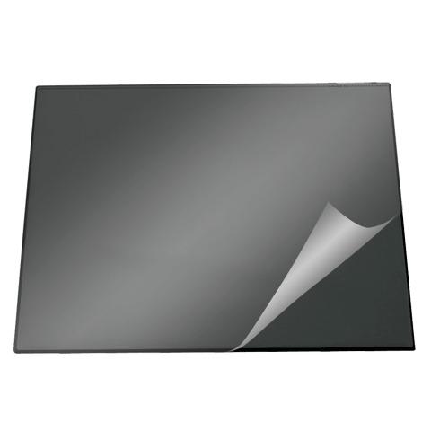 Коврик настольный для письма Durable 720301, 52х65см, с карманом, черный, 720301