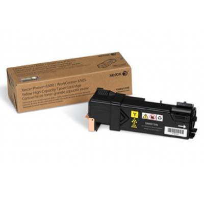 Тонер-картридж Xerox 106R01603, желтый