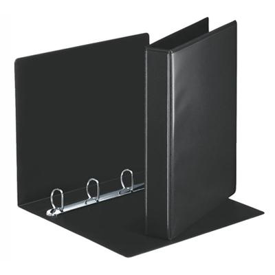 Папка-панорама на 4-х кольцах Esselte 49717, А4, 50 мм, черная