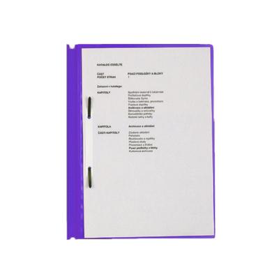 Скоросшиватель пластиковый Esselte 16908, А4, фиолетовый