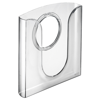Лоток навесной для бумаг LEITZ Element 5401-02, А4, прозрачный