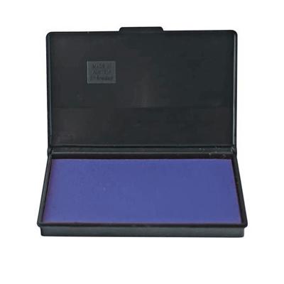 Штемпельная настольная подушка Trodat 9053, 116х90мм, синяя, краска на водной основе