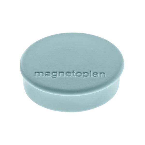 Магниты для магнитной доски Magnetoplan Hobby 1664501, d=25мм, серые, 10шт/уп