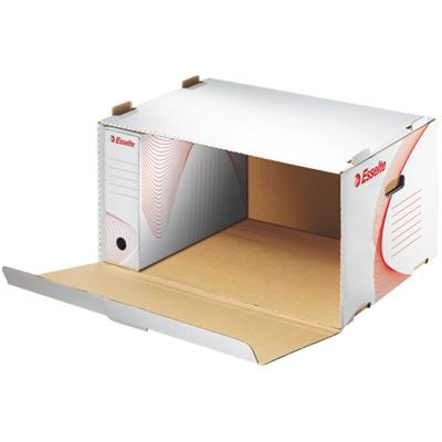 Архивный короб Esselte 128910, 525х338х396 мм, белый