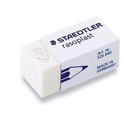 Ластик Staedtler Rasoplast, 526 B4002, белый