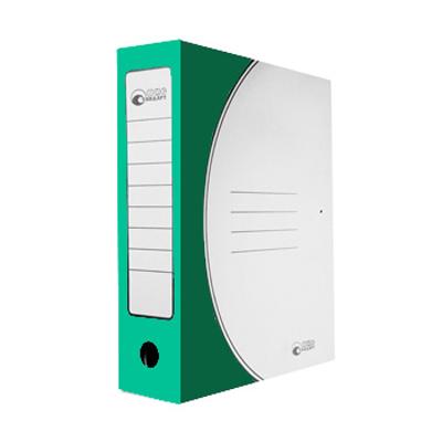 Архивная папка на завязках Промтара Офис Стандарт 323з, А4, 75 мм, зеленая