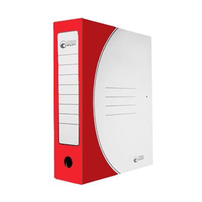 Архивная папка на завязках Промтара Офис Стандарт 323к, А4, 75 мм, красная
