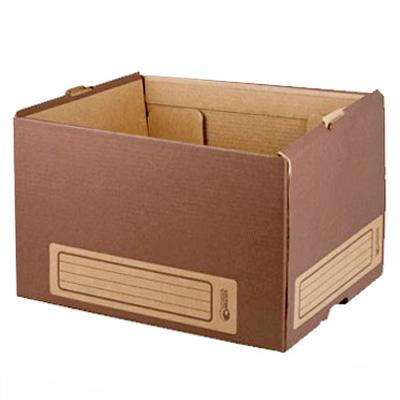 Архивный короб Промтара Офис Стандарт 261, 340х265х440 мм, коричневый