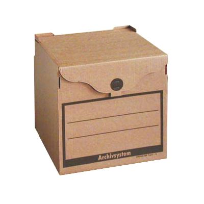 Архивный короб Промтара Офис Стандарт 210, 330х340х310 мм, бурый