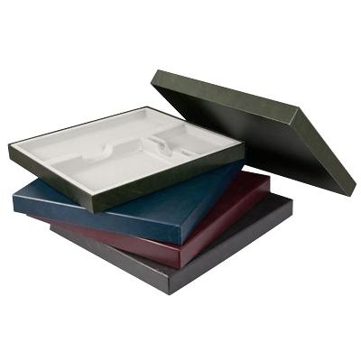 Подарочная упаковка на 3 изделия Brunnen, 37,8 х 34,7см, черный