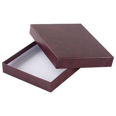 Подарочная упаковка для ежедневника Brunnen Эксклюзив, бордовый