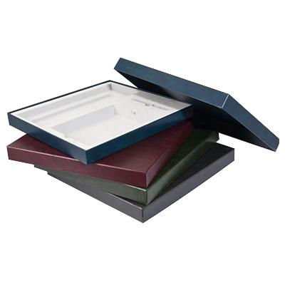 Подарочная упаковка на два изделия Brunnen, 37,8 х 34,7см, бордовый