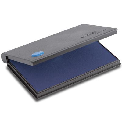 Штемпельная настольная подушка Colop Micro 3, 160х90мм, синяя, краска на водной основе