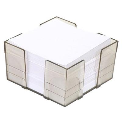 Блок для записей в подставке City, 9х9х5см, непроклеенный, тонированный