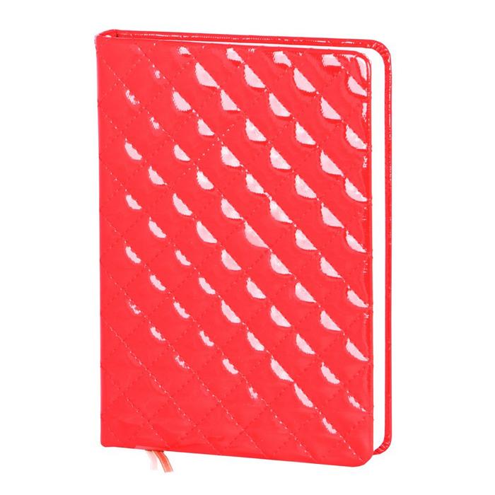 Ежедневник недатированный InFolio Paris А5, 12 х 17см, 160 листов, красный