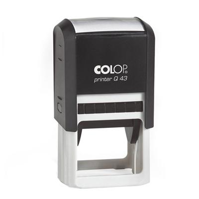 Оснастка для квадратной печати Colop Printer Q43, 43х43мм, черная