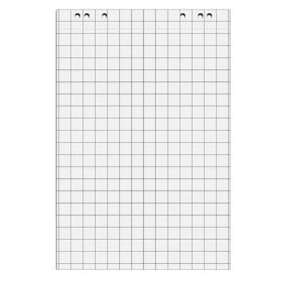 Блокнот для флипчарта Attache, 67,5х98 см, 5 блоков х 20 листов, клетка