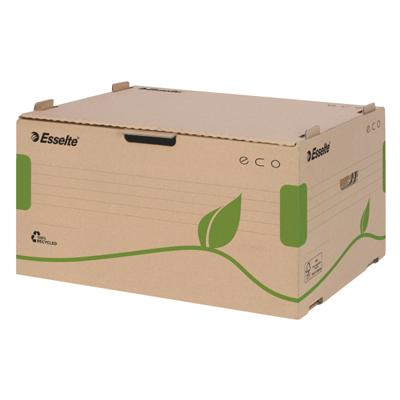 Архивный короб Esselte Eco 623919, 340х259х439 мм, коричневый