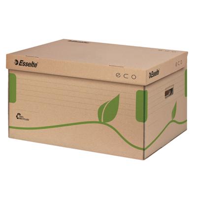 Архивный короб Esselte Eco 623918, 439х242х345 мм, коричневый