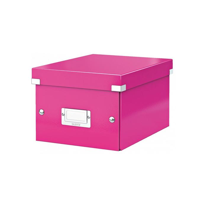 Архивный короб Leitz Click & Store-Wow 604300 23, A5, 220x160x282 мм, розовый