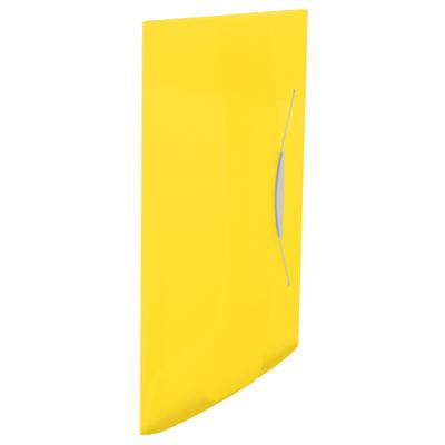 Пластиковая папка на резинке Esselte Vivida 624045, A4, до 150 листов, желтая