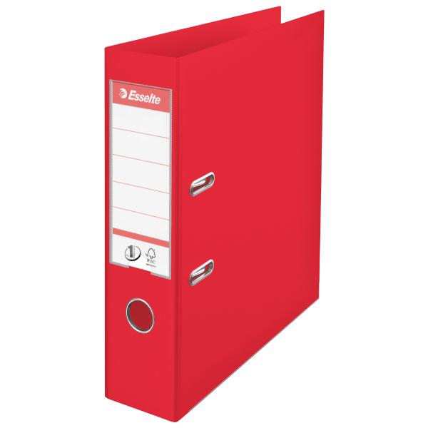 Папка-регистратор А4 Esselte Vivida Plus 624068, 75мм, красная