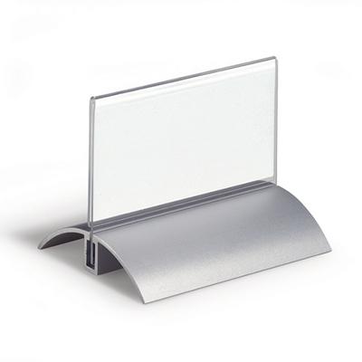 Табличка настольная прямая DURABLE De Luxe 8200-19, 52х100мм, 2шт/уп, 8200-19